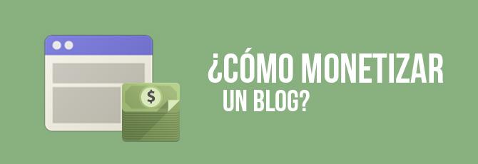 Como Monetizar Tu Blog O Web